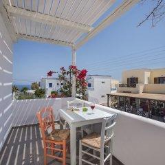 Апартаменты Nissia Apartments балкон
