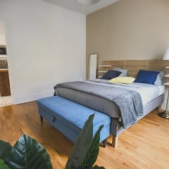 Апартаменты Apartment With 2 Bedrooms in Boulogne-billancourt, With Furnished Terrace and Wifi Булонь-Бийанкур комната для гостей фото 5