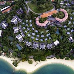 Отель Capella Singapore пляж фото 2