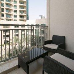 Апартаменты One Perfect Stay - Studio at Burj Views Дубай балкон