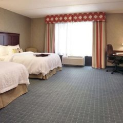 Отель Hampton Inn & Suites Columbus Polaris Колумбус комната для гостей фото 5