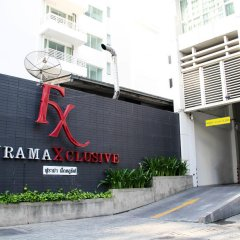 Отель Furamaxclusive Asoke Бангкок парковка