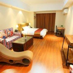Zailushang Boutique Hostel (Dongguan Houjie Wanda) комната для гостей