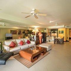 Апартаменты Aspasia Kata Luxury Resort Apartment пляж Ката Яй интерьер отеля фото 2