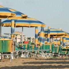 Отель Harmony Римини пляж фото 2