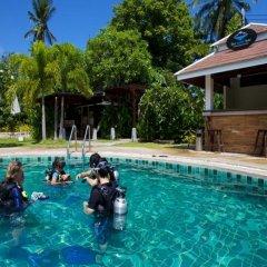 Отель Bans Diving Resort Таиланд, Остров Тау - отзывы, цены и фото номеров - забронировать отель Bans Diving Resort онлайн бассейн фото 2