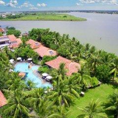 Отель Vinh Hung Riverside Resort & Spa пляж фото 2