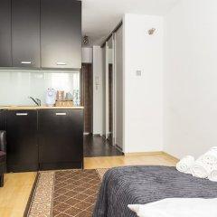 Отель Hosapartments City Center Польша, Варшава - 2 отзыва об отеле, цены и фото номеров - забронировать отель Hosapartments City Center онлайн комната для гостей фото 12
