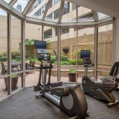 Отель Courtyard Arlington Rosslyn фитнесс-зал фото 4