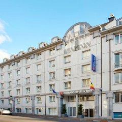 Отель Hilton Garden Inn Brussels City Centre Бельгия, Брюссель - 4 отзыва об отеле, цены и фото номеров - забронировать отель Hilton Garden Inn Brussels City Centre онлайн вид на фасад