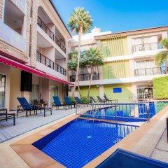 Отель Kata Blue Sea Resort бассейн фото 3