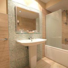 Отель Montedobra Испания, Торрелавега - отзывы, цены и фото номеров - забронировать отель Montedobra онлайн ванная фото 2
