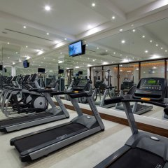Отель Nirvana Lagoon Villas Suites & Spa фитнесс-зал фото 2