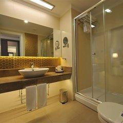 Отель Kirman Belazur Resort And Spa Богазкент ванная