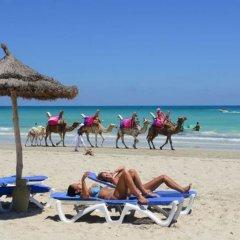 Отель Fiesta Beach Djerba - All Inclusive Тунис, Мидун - 2 отзыва об отеле, цены и фото номеров - забронировать отель Fiesta Beach Djerba - All Inclusive онлайн пляж фото 2