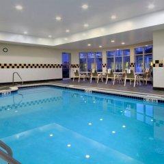 Отель Hilton Garden Inn Columbus Airport бассейн фото 2
