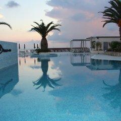 San Domenico Family Hotel Скалея бассейн