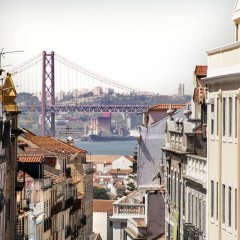 Отель Casa do Príncipe Лиссабон балкон