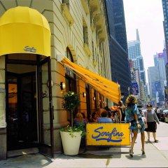 Отель Dream New York городской автобус