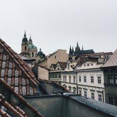 Отель Domus Balthasar Design Прага балкон