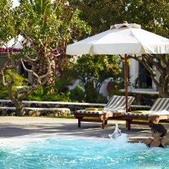 Отель Santorini Kastelli Resort Греция, Остров Санторини - отзывы, цены и фото номеров - забронировать отель Santorini Kastelli Resort онлайн бассейн фото 2