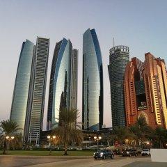 Grand Continental Flamingo Hotel Абу-Даби вид на фасад