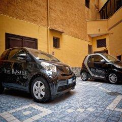 Hotel Barbato парковка