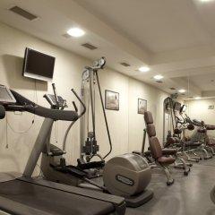 Отель Lucky Bansko Aparthotel SPA & Relax фитнесс-зал