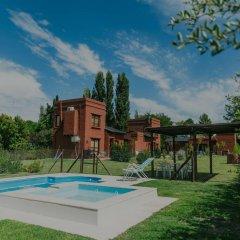 Отель Cabañas La Cosecha Сан-Рафаэль бассейн