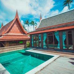 Отель Sasitara Thai villas Таиланд, Самуи - отзывы, цены и фото номеров - забронировать отель Sasitara Thai villas онлайн бассейн фото 3