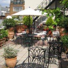 Отель Roof Garden Rooms Лондон питание