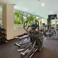 Отель The Seminyak Beach Resort & Spa фитнесс-зал фото 3
