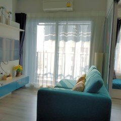 Отель 1Br Centric Sea 115 With Infinity Pool Паттайя комната для гостей фото 3