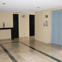 Hotel MX aeropuerto интерьер отеля