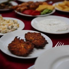 Отель Baba Motel питание