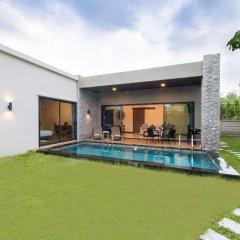 Отель Вилла Acasia Pool Villa Resort Phuket Бухта Чалонг бассейн