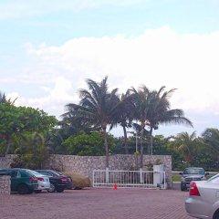 Отель Cancun Plaza Condo парковка