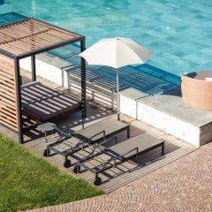 Отель Spa & Family Resort Sonnenhof Натурно бассейн