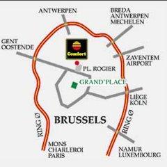 Отель Comfort Art Hotel Siru Бельгия, Брюссель - отзывы, цены и фото номеров - забронировать отель Comfort Art Hotel Siru онлайн парковка
