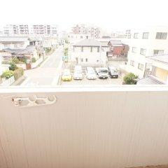Отель Plus One Fujisaki Фукуока балкон