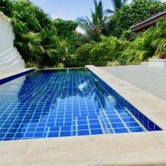 Отель 3 Bedroom Private Pool Villa Flora Таиланд, Самуи - отзывы, цены и фото номеров - забронировать отель 3 Bedroom Private Pool Villa Flora онлайн бассейн фото 3