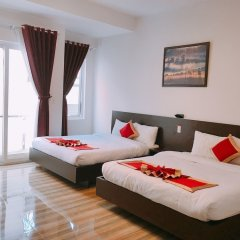 Dat Thien An Hotel Далат комната для гостей