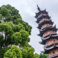 Отель Qi Sheng Apartment Китай, Гуанчжоу - отзывы, цены и фото номеров - забронировать отель Qi Sheng Apartment онлайн приотельная территория