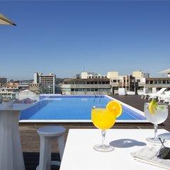 Отель Jupiter Lisboa Hotel Португалия, Лиссабон - отзывы, цены и фото номеров - забронировать отель Jupiter Lisboa Hotel онлайн бассейн