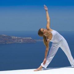 Отель Grace Santorini Греция, Остров Санторини - отзывы, цены и фото номеров - забронировать отель Grace Santorini онлайн фитнесс-зал фото 4