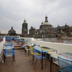 Отель Mexiqui Zocalo Мексика, Мехико - отзывы, цены и фото номеров - забронировать отель Mexiqui Zocalo онлайн приотельная территория