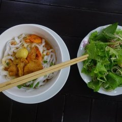 Отель Hoi An Leaf Homestay питание