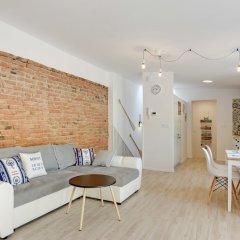 Апартаменты Lion Apartments - La Playa Сопот комната для гостей фото 4