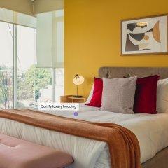 Отель Luxurious Designer 2BR Apt. in Polanco Мехико комната для гостей фото 3