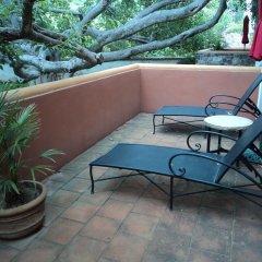 Отель Hacienda de Los Santos балкон